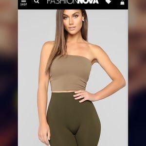 Fashion Nova tube top